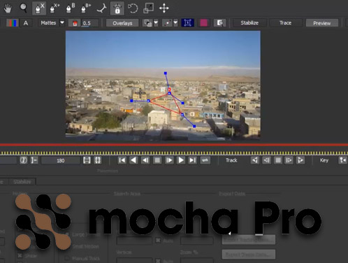آموزش فارسی نرم افزار Mocha Pro