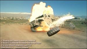 آموزش انفجار ماشین