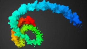 آموزش لرزش رنگ ها با کمک صدا در افتر افکت