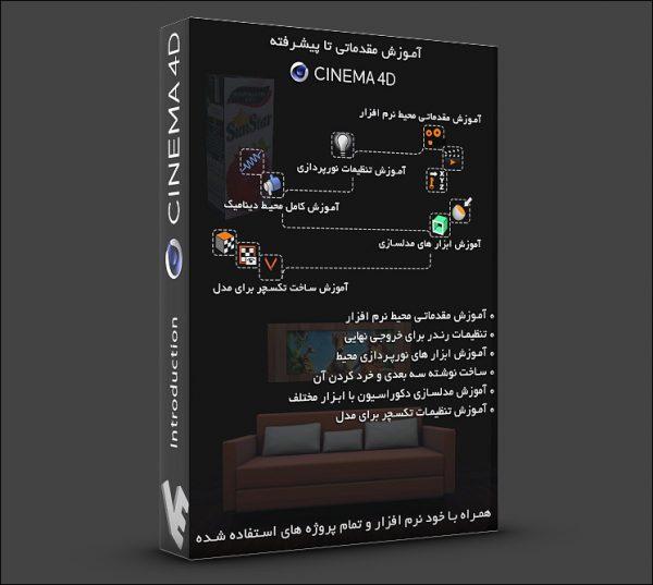 آموزش مقدماتی نرم افزار Cinema 4d