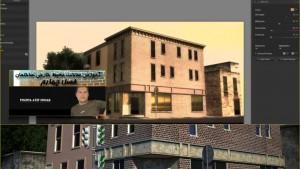 آموزش مدلسازی ساختمان سه بعدی در 3d MAx