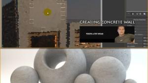 آموزش ساخت متریال دیوارد در 3d Max
