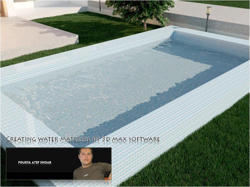 آموزش ساخت آب سه بعدی