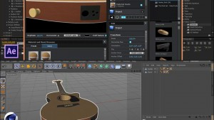 آموزش وارد کردن مدل سه بعدی از Cinema 4d به Element 3d