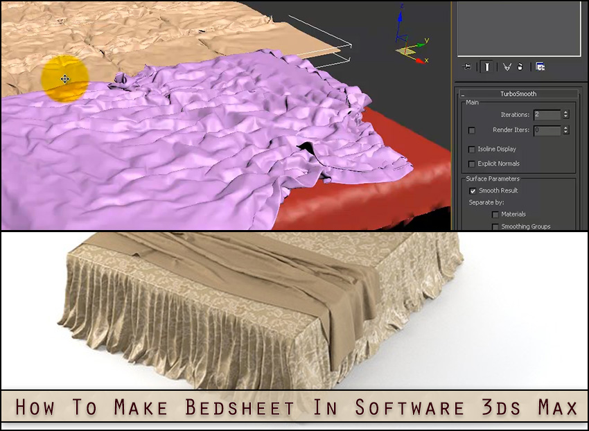 How-To-Make-Bedsheet-In-Software-3ds-Max