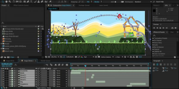 Tutorial Create Game Angry Birds in After Effects