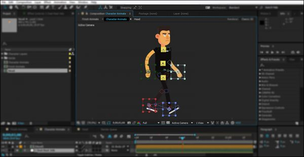 Animate Character in After Effects