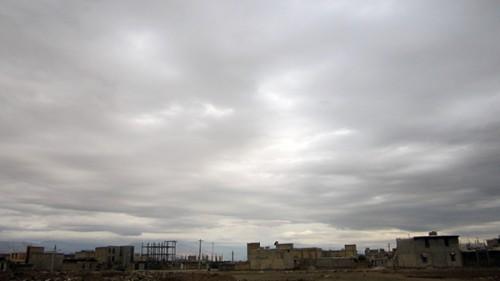 دانلود عکس آسمان ابری