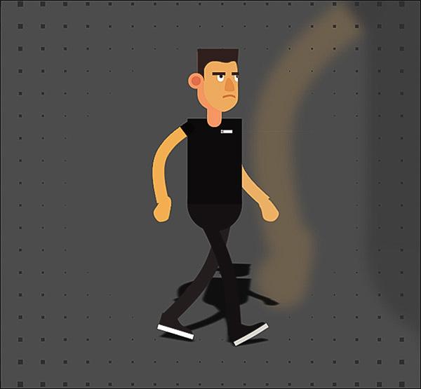 آموزش انیمیت کاراکتر دو بعدی در نرم افزار افتر افکت