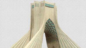 دانلود عکس میدان آزادی تهران برای مت پینتینگ
