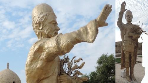 عکس مجسمه کشاورز