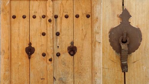 تکسچر در چوبی قدیمی