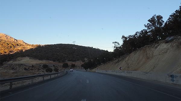 فیلم جاده در حال حرکت خودرو – Road Movie Moving Car