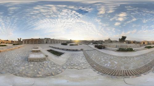 عکس پانارومای بلاد شاپور دهدشت – Panorama Monument