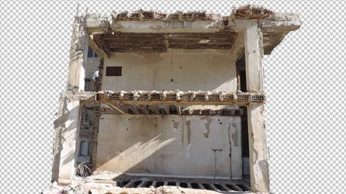 عکس ساختمان خرابه برای مت پینتینگ – Picture Building