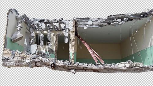 عکس ساختمان خرابه ۲ برای مت پینتینگ – Picture Building