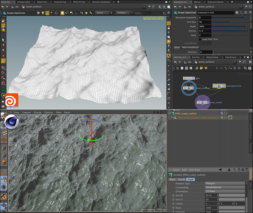 Tutorial Houdini In Maxon Cinema 4d