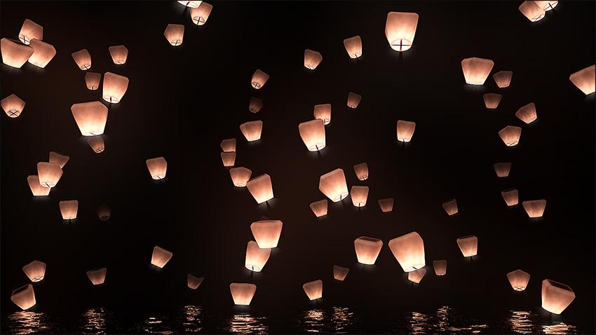 آموزش ساخت نورهای مختلف در نرم افزار Cinema 4d