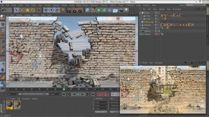 Day 2 Tutorial The Destruction Of The Wall In Cinema 4d
