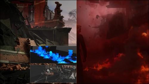 پشت صحنه ساخت تریلر فیلم Skyfall در نرم افزار Cinema 4d
