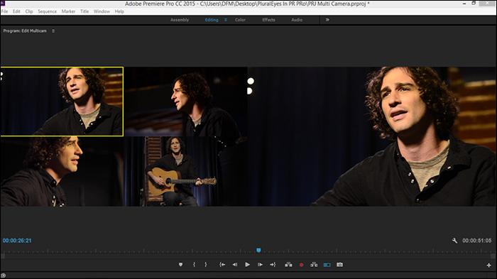 آموزش فارسی ابزار MultiCamera در نرم افزار PremierePro
