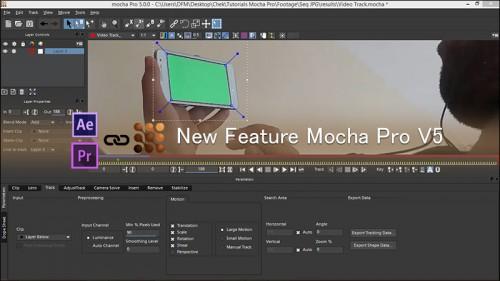 آموزش قابلیت های جدید نرم افزار Mocha Pro V5