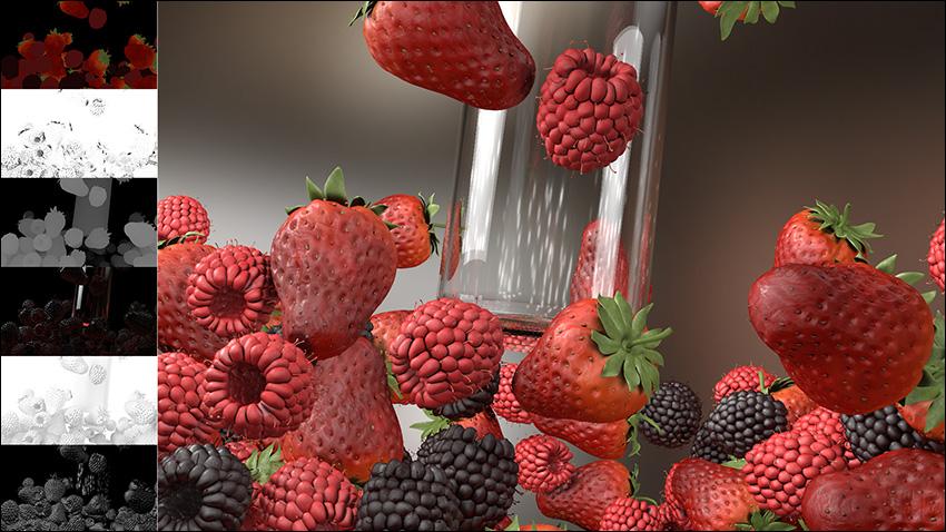 آموزش کامپوزیت لایه های مختلف سه بعدی در افتر افکت