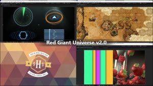 دانلود و آموزش پلاگین های Red Giant Universe v2.0 در پریمیر و افتر افکت