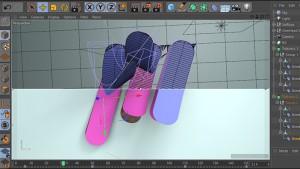 آموزش ساخت میان برنامه سه بعدی در نرم افزار Cinema 4d