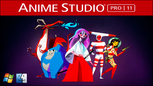 دانلود و آموزش کرک نرم افزار Anime Studio Pro 11