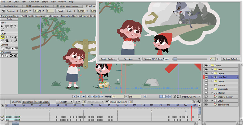 آموزش مقدماتی فارسی نرم افزار Anime Studio