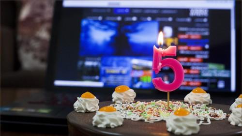 جشن تولد حسین هادی پور