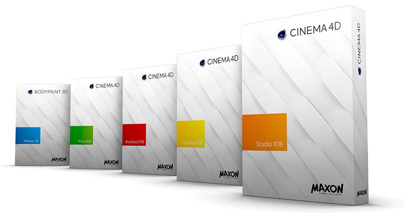 دانلود ورژن R18 نرم افزار Cinema 4d