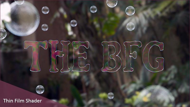 آموزش ساخت حباب با کمک Thin Film در Cinema 4d R17