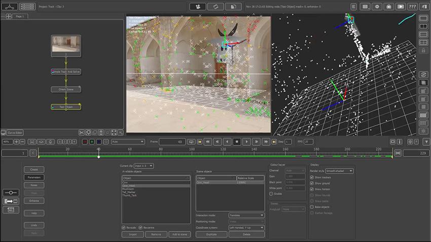 آموزش ابزار Simple Track And Camera Solve در PFTrack