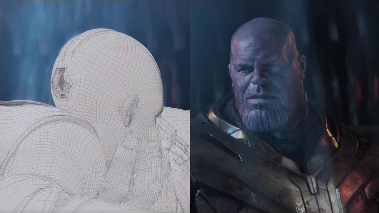 مراحل ساخت صحنه های سه بعدی فیلم Avengers Endgame