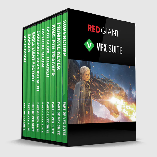 دانلود پلاگین Red Giant VFX Suite با کرک