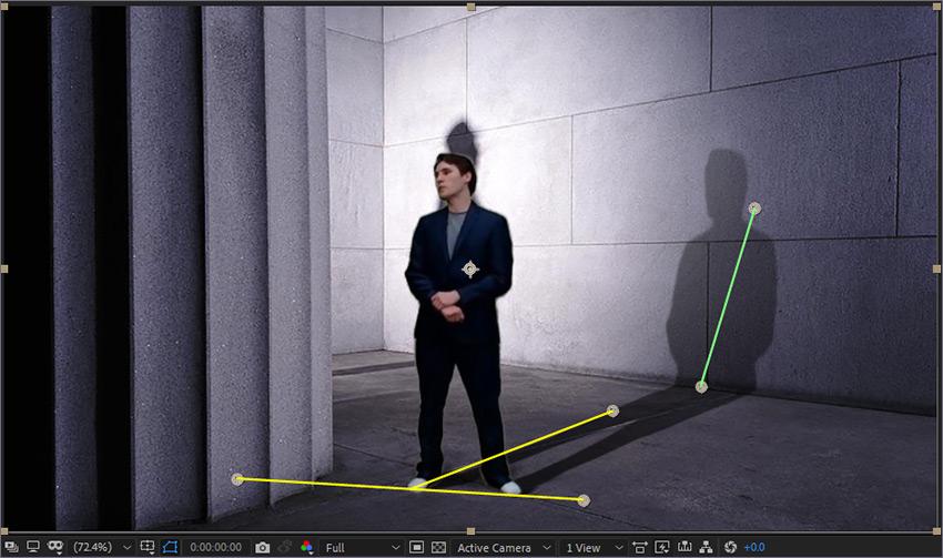آموزش ساخت سایه سه بعدی در افتر افکت