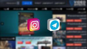 وبسایت ویدیو افکت در تلگرام و اینستاگرام