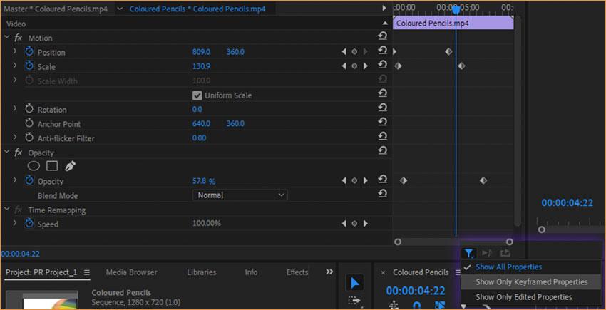 آموزش تنظیمات Scene Edit Detection در پریمیر پرو