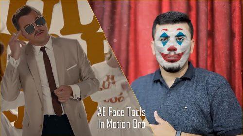 آموزش صورت جوکر در Photoshop و After Effects