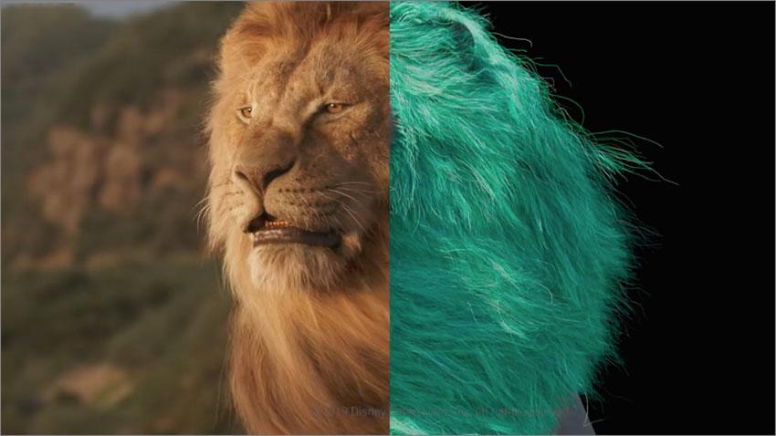 مراحل ساخت فیلم The lion King