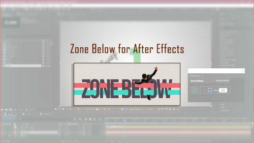 دانلود و آموزش اسکریپت Zone Below در افتر افکت After Effects