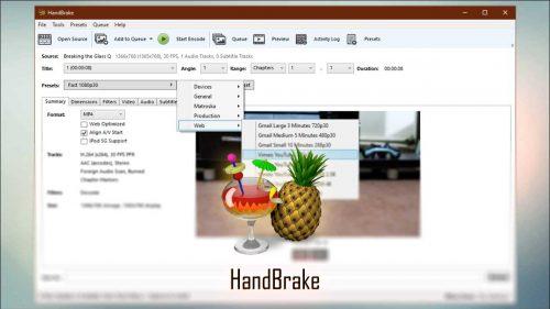 دانلود و نصب نرم افزار HandBrake