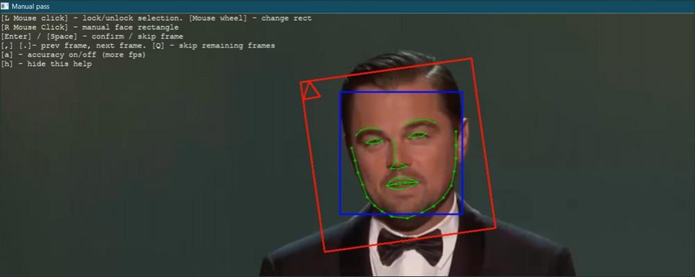 آموزش جداکردن صورت به صورت دستی در DeepFaceLab