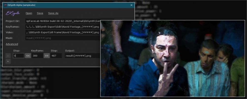 آموزش ساخت افکت در EBSynth نرم افزار