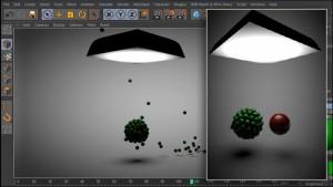 آموزش تنظیمات آهنربا در نرم افزار Cinema 4d