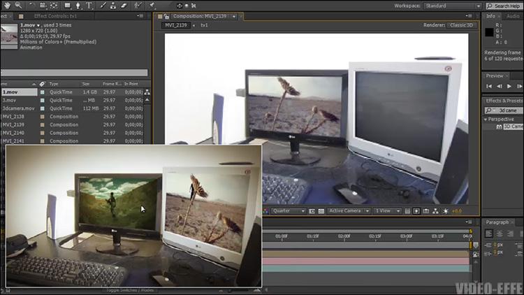 آموزش کار با پلاگین 3d Camera Tracker