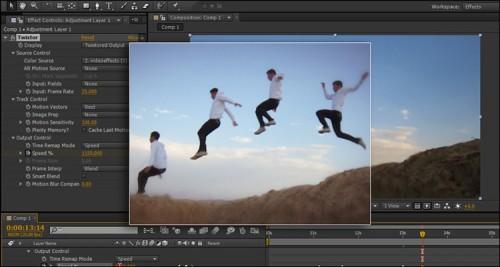 آموزش صحنه آهسته در نرم افزار After Effects