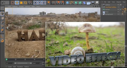 آموزش رندر واقعی در نرم افزار Cinema 4d